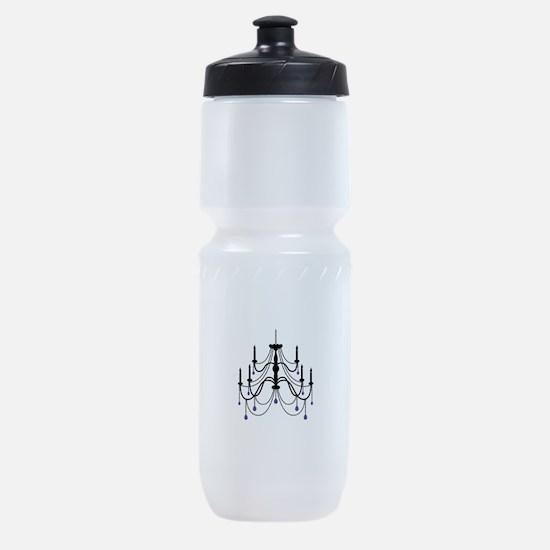 Glamorous Chandelier Light Fixture Sports Bottle