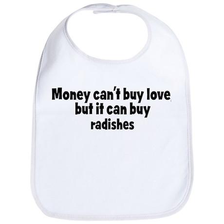 radishes (money) Bib
