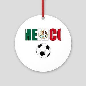Mexico soccer Ornament (Round)