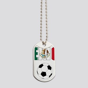 Mexico soccer Dog Tags