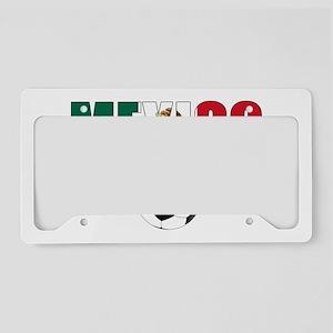 Mexico soccer License Plate Holder