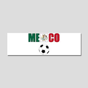 Mexico soccer Car Magnet 10 x 3
