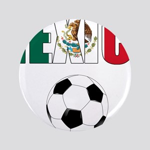 "Mexico soccer 3.5"" Button"