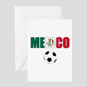 Mexico soccer Greeting Cards