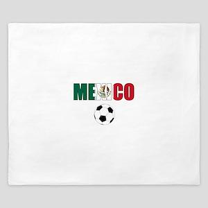 Mexico soccer King Duvet