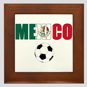 Mexico soccer Framed Tile