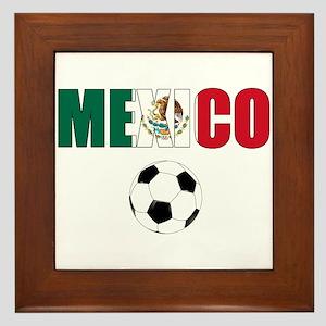 Mexico soccer Framed Tile