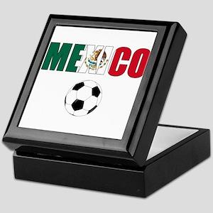 Mexico soccer Keepsake Box