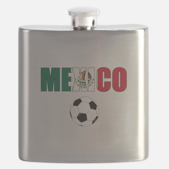 Mexico soccer Flask