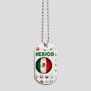 Mexico soccer Dog Tags