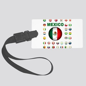 Mexico soccer Luggage Tag
