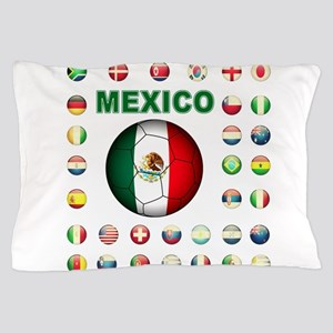 Mexico soccer Pillow Case