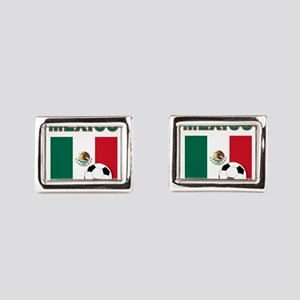 Mexico soccer Rectangular Cufflinks