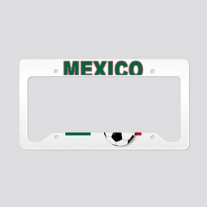 Mexico soccer License Plate Holder