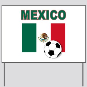 Mexico soccer Yard Sign