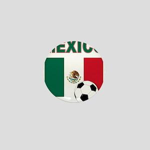 Mexico soccer Mini Button