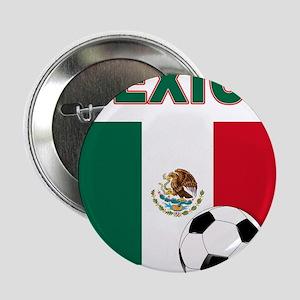 """Mexico soccer 2.25"""" Button"""