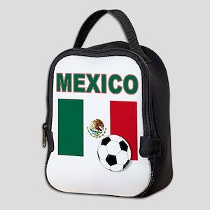 Mexico soccer Neoprene Lunch Bag