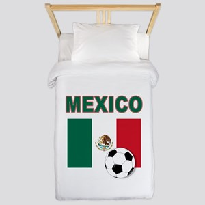 Mexico soccer Twin Duvet