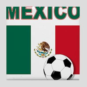 Mexico soccer Tile Coaster