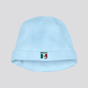 Mexico soccer baby hat