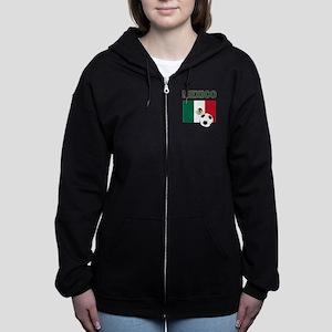 Mexico soccer Women's Zip Hoodie