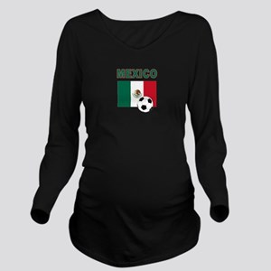 Mexico soccer Long Sleeve Maternity T-Shirt