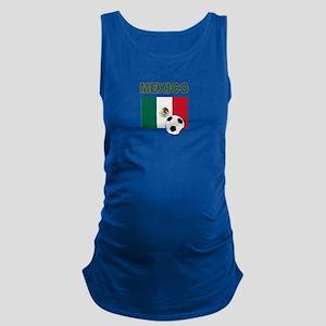 Mexico soccer Maternity Tank Top