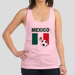 Mexico soccer Racerback Tank Top