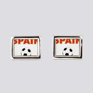 Spain soccer Rectangular Cufflinks