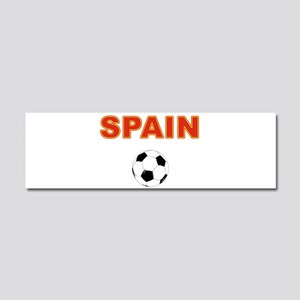 Spain soccer Car Magnet 10 x 3