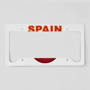 Spain soccer License Plate Holder