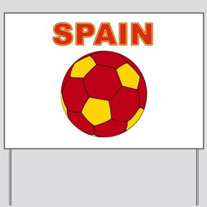 Spain soccer Yard Sign