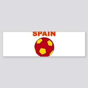Spain soccer Bumper Sticker