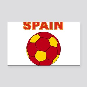 Spain soccer Rectangle Car Magnet