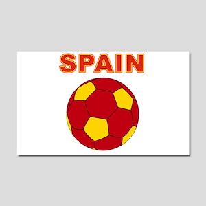 Spain soccer Car Magnet 20 x 12