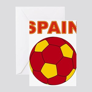 Spain soccer Greeting Cards