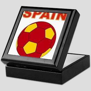 Spain soccer Keepsake Box