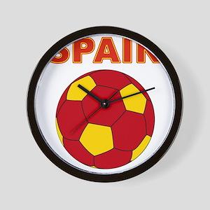 Spain soccer Wall Clock