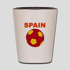 Spain soccer Shot Glass