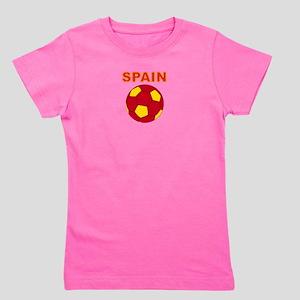 Spain soccer Girl's Tee