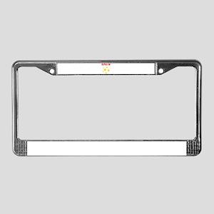 Spain soccer License Plate Frame