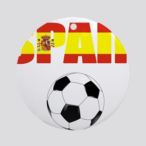 Spain soccer Ornament (Round)