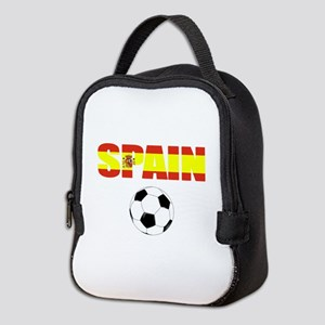 Spain soccer Neoprene Lunch Bag