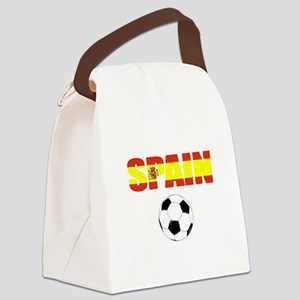 Spain soccer Canvas Lunch Bag