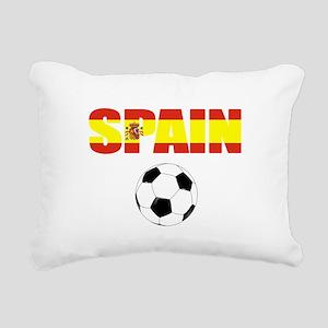 Spain soccer Rectangular Canvas Pillow