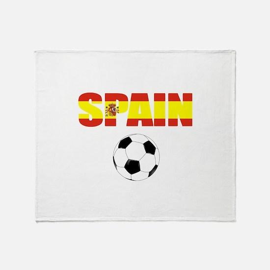 Spain soccer Throw Blanket