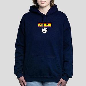 Spain soccer Women's Hooded Sweatshirt
