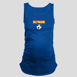 Spain soccer Maternity Tank Top