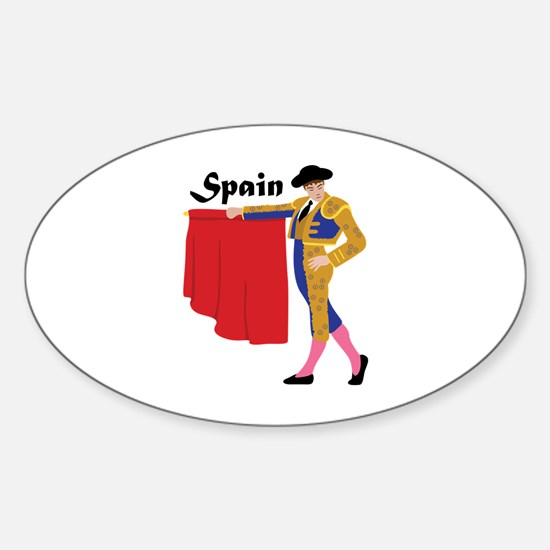 Spain Decal